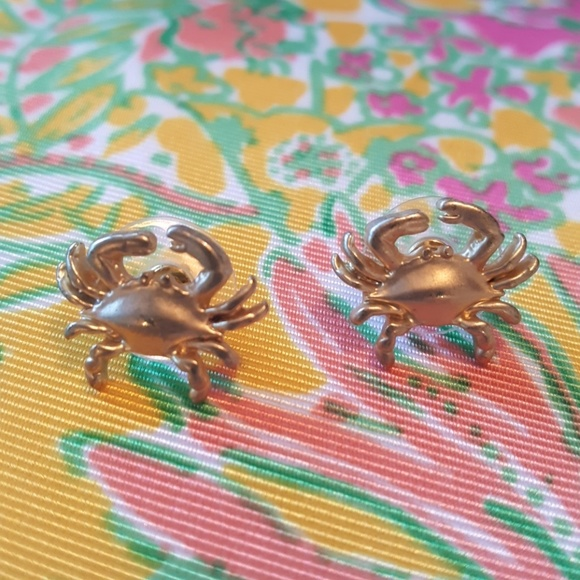 fornash Jewelry - FORNASH PREPPY NAUTICAL GOLD CRAB STUDS MARYLAND